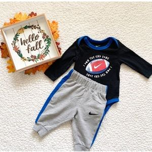 Nike 6month onesie outfit